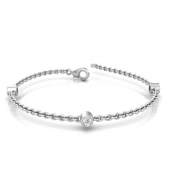 Baby diamond bracelet