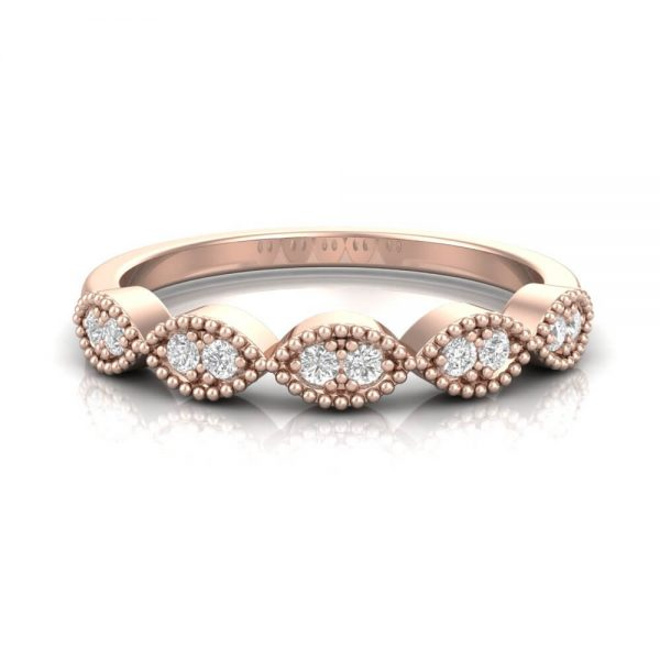 Stacker Diamond Ring Marquise