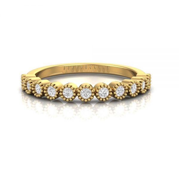 Diamond Stacker Ring - Round