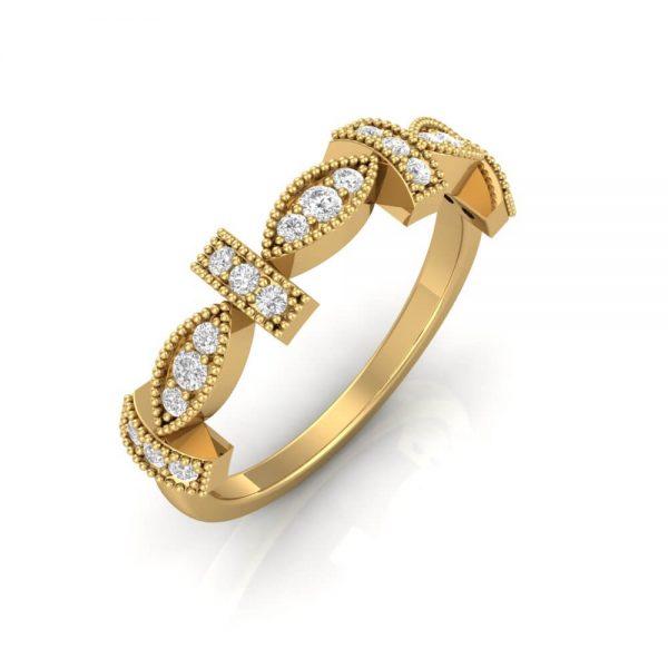 Diamond Stacker Ring.